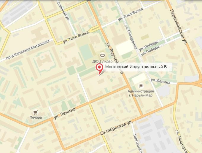 кредиты бизнесу адрес и телефон банка в нарьян-маре