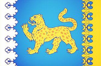 флаг псковской области россия