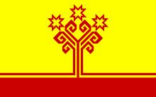 флаг чувашской республики россия