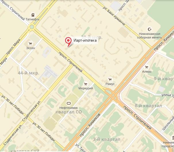ипотечный кредит адрес и телефон банка в нижнекамске