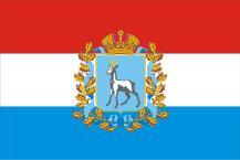 флаг самарской области россия
